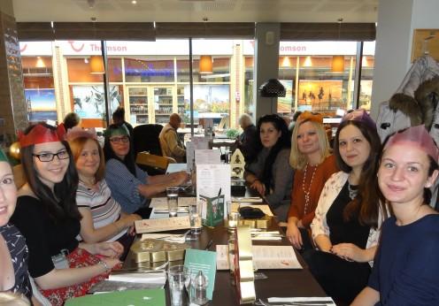 Euroscicon christmas lunch 2015