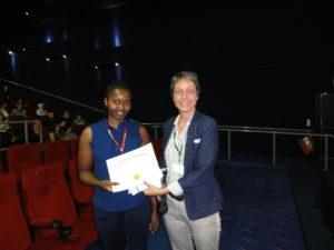 Miss Irene Nkumama (University of Leicester,UK) and Professor Annemarie H Meijer