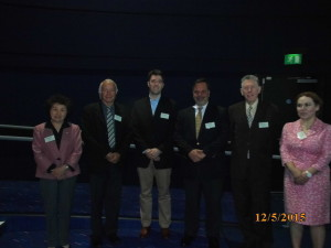 Speakers from day 1 (from L-R) JingJie Yu, Shimon Slavin (Chair), Daniel Cohen, Jorge Pascual, Bernard Stewart and Natasha Kyprianou