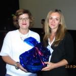 Assistant Professor Lisa Fuchs and feedback prize winner Dr Joanne Lusher (UK)