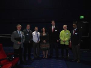Speakers Day 2 (From L-R)- Philippe Perrin, Nathan Riddell, Mark De Ste Croix, JoEllen Sefton (Chair), Douglas Johnson, Colin Clarke and Derik Davis