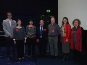 Speakers (Day 3) From L-R: Tomas van Nassau, Muriel Bretau, Magdalena Plotka, Tony Hitchcock, Mikael Skurnik, Heather Allison (Chair), Zuzanna Drulis Kawa