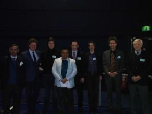 Speakers - Day 1 (From L-R): Shakil Ahmed, Stefano Rigotti, Dmitry Maslov, Sanjib Bhakta (Chair), Khaled AlKattan, Richard Anthony, Adriaan Minaard and Marvin Miller