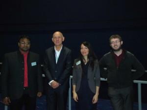 Speakers - Day 2 (From L-R): Manish Gupta, Tjip van der Werf, Jennifer Landolfi and Michael Head (Chair – morning session)