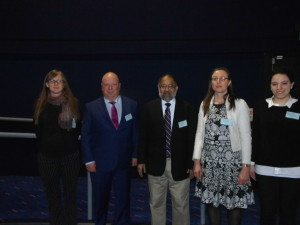 Speakers - Day 3 (From L-R): Sarah Lou Bailey, Leander Grode, Mohammad Wasay, Sandrine Lesellier (Chair) and Elena Polycarpou
