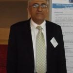 Poster prize winner Dr Ahmad Almulla
